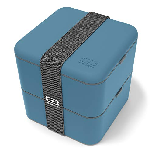 monbento - MB Square blau Denim Bento...