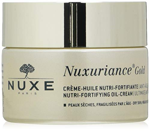 Nuxe Nuxuriance Gold Cr  Me Huile Nutri