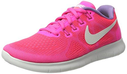 Nike Damen Free Rn 2017 Laufschuhe, Pink Racer Pink Off White Pink Blast BRT Mango Purple Earth, 36.5 EU