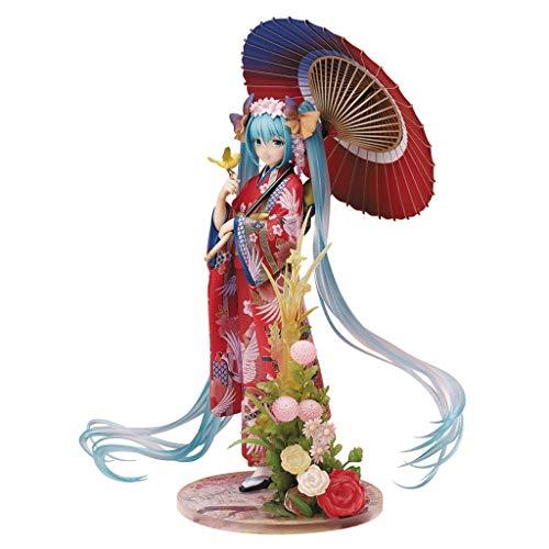 LRWTY Hatsune Miku: Hanairogoromo 1/8 Scale PVC Figur aus der japanischen Anime-Serie Statue POP