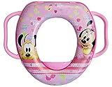 Brigamo Asiento de inodoro infantil con asa, diseño de Minnie Mouse