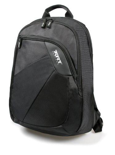410yIAlEyxL - Port Meribel - Mochila para Ordenador portátil hasta 39,6 cm (15,6 Pulgadas) Negro
