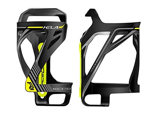 ONOGAL PORTABIDON Porta Bidon RaceOne Kela seitlich schwarz gelb Fahrrad 6331NAM