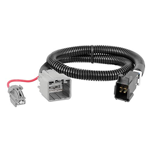 CURT 51453 Quick Plug Electric Trailer Brake Controller Wiring Harness, Select Ram 1500, 2500, 3500