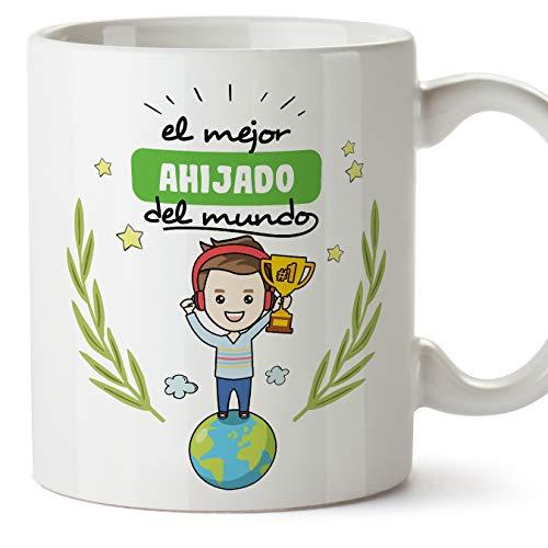 MUGFFINS Taza Ahijado -Familiares Mundo -Regalos Originales y Divertidos -Tazas de Café y Té