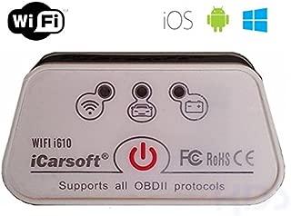 iCarsoft CR Plus OBD2/Test Diagn/óstico Auto Error de Equipo de impresi/ón antilectura Dispositivo