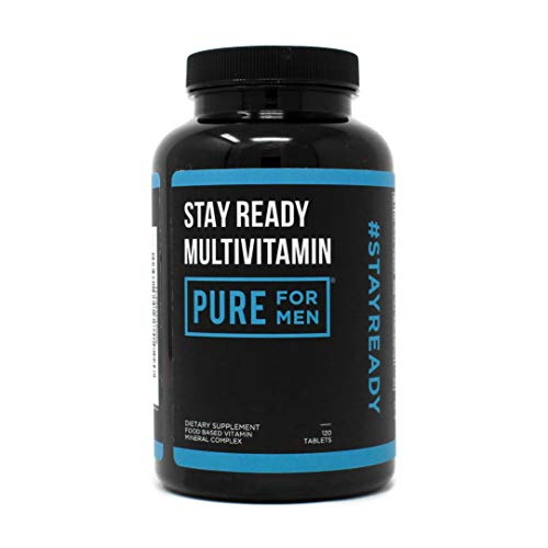 Stay Ready MultiVitamin | Pure for Men's Stay Ready Collection (120 Capsules)