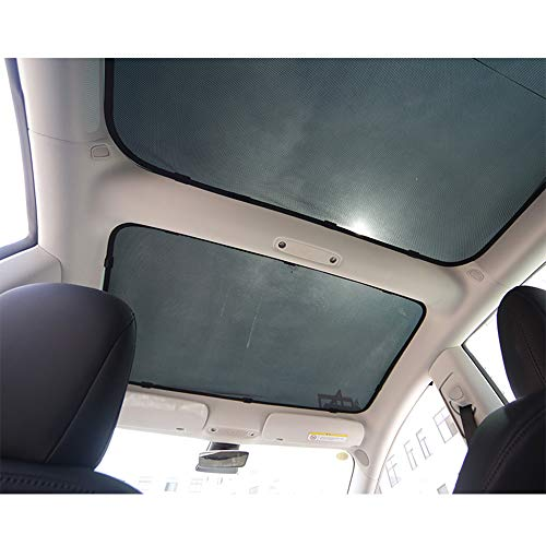 Faltbarer Glasdach Sonnenschutz (2 Teile)