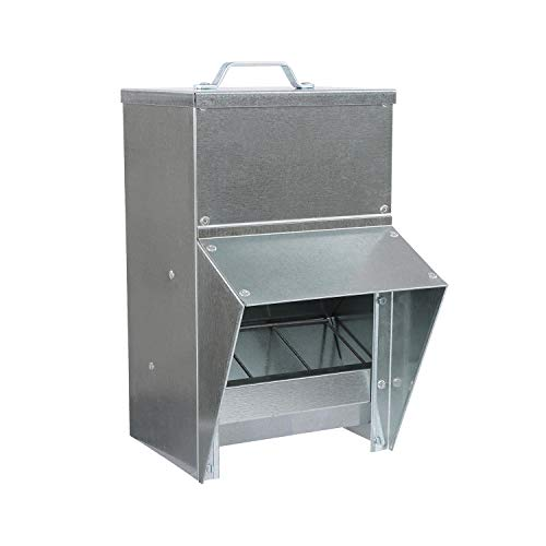 Rural365 Galvanized Chicken Feeder