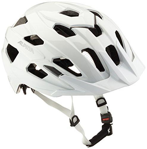 Alpina Radhelm Yedon Fahrradhelm, weiß, 57-62 cm
