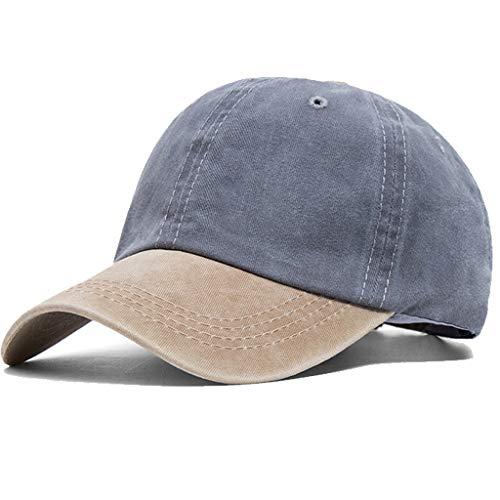 CheChury Cappellino Cappelli da Baseball per Uomo Donna Estivo Traspirante Cappello con Visiera da Hip-Hop Unisex Casuali Hip Hop Hat da Baseball