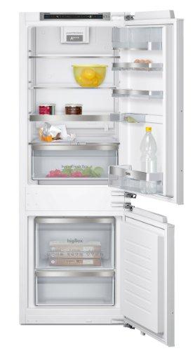 Siemens KI77SAD40 iQ500 Kühlschrank / A+++ / 157,8 cm Höhe / 140 kWh/Jahr / 164 Liter Kühlteil / 61 Liter Gefrierteil / HydroFresh Box mit Feuchteregulierung / Flachschanier