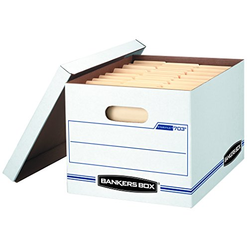 Bankers Box STOR/FILE Medium-Duty Storage Boxes,