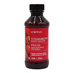 Strawberry flavoring emulsion