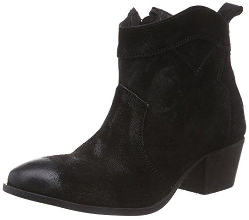 Black Lily Damen Leni Boot Kurzschaft Stiefel, Schwarz (Black), 38 EU