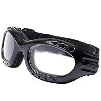 DONGKIKI サイクリングスキーゴーグル 目が疲れにくい スキー/バイク/登山/アウトドアスポーツに全面適用 紫外線カッ 防風/防雪/防塵/スキーなど用 男女兼用
