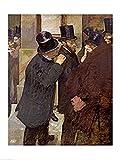The Poster Corp Edgar Degas – An der Börse Kunstdruck