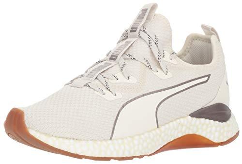 PUMA Women's Hybrid Runner Sneaker, Whisper White White, 8.5 M US