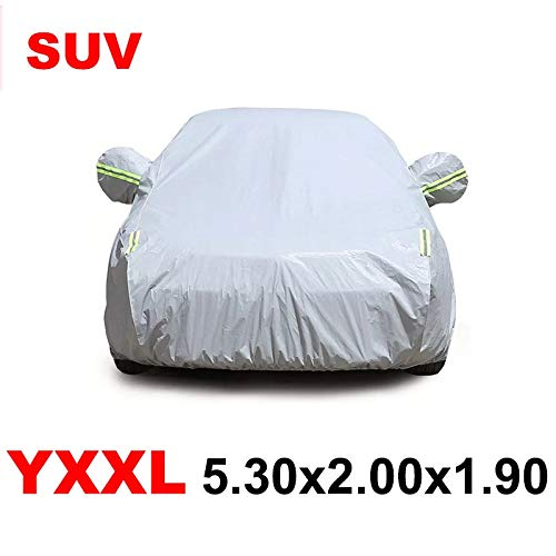 nobrand Car Cover Car Umbrella Box Car Cover Car Tarp Auto Tarp 190t Wasserdicht (Color Name : YXXL 5.30x2.00x1.90)