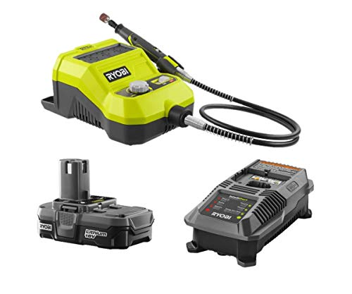 Ryobi 18-Volt ONE+ Cordless Rotary Tool with Battery & Charger, (No Retail Packaging, Bulk Packaged)