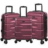 Sandinrayli 3 Pcs Hardside Luggage Set, 20
