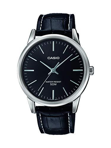 Casio Reloj Analógico para Hombre de Cuarzo con Correa en Cuero MTP-1303PL-1FVEF