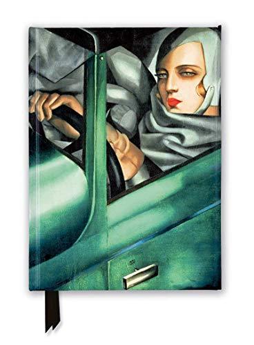 Tamara De Lempicka: Tamara in the Green Bugatti, 1929 Foiled Journal
