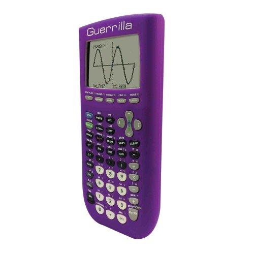 Guerrilla Silicone Case for Texas Instruments TI-84 Plus Graphing Calculator, Purple Photo #2