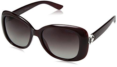 Polaroid PLD 4051/S WJ LHF Gafas de sol, Rojo (Burgundy Opal/Grey Sf Pz), 55 para Mujer