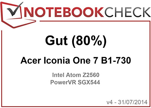 Acer Iconia One 7 (B1-730HD) Tablet-PC (7 Zoll) - 15