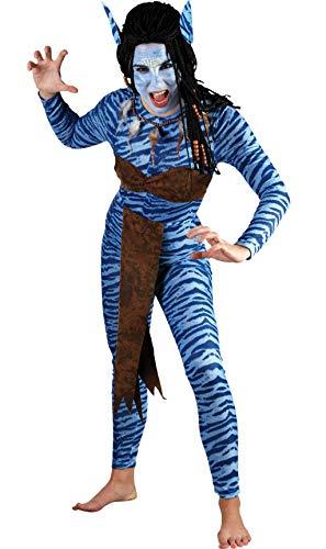 Fyasa Jungle-Disfraz de guerrera, Multicolor, X-Large 706055-TXL