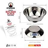 Zoom IMG-2 bilancia cucina acciaio inox da