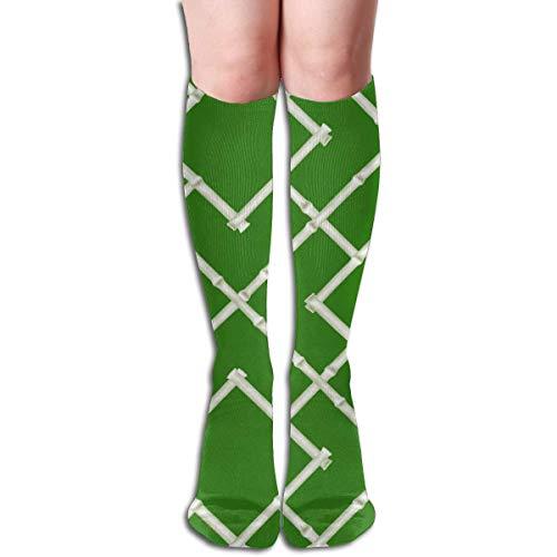 Osaka Bambus Spalier Grün Frauen Rohr Kniehohe Strümpfe Cosplay Socken 50 cm (19,6 Zoll)