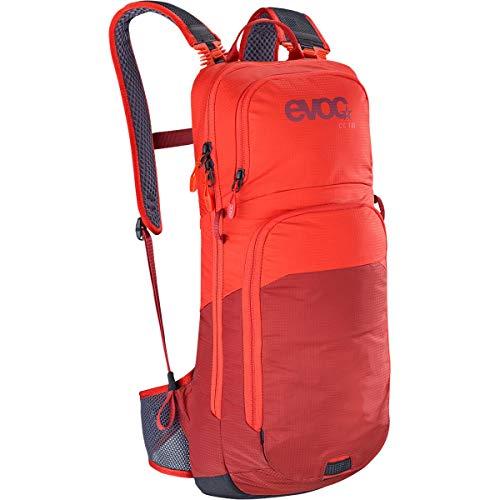 evoc CC 10l + 2l Bladder Trinkrucksack, Orange/Chili Red, one Size