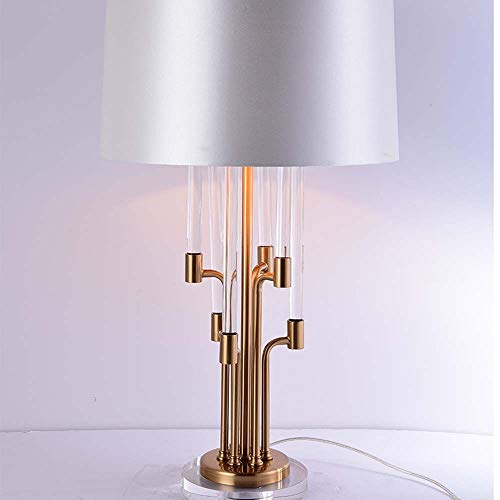 zZZ Nachdem Die Amerikanischen Leuchte Luxuxmodell Haus Lichtdesigner Kreative Software Moderne Marmortisch Schlafzimmer Nachtbeleuchtung 42 * 75cm Installiert Schön und warm (Farbe : B)