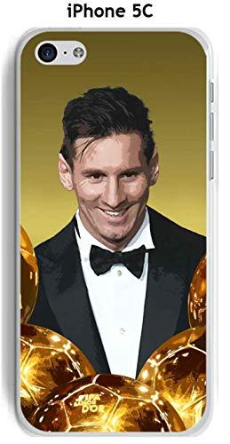Onozo Carcasa Apple iPhone 5C Design Messi el balón de Oro