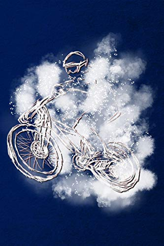 Notizbuch: Crossbike Crossrad Cyclocrossrad Mountainbike Cross Rennrad - Notizbuch oder Tagebuch für Rennradfahrer, Biker, Radler und Fahrrad Fans - Notizheft Klatte für Männer, Frauen und Kinder