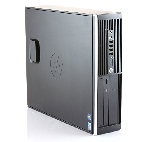 HP Elite 8300 - Desktop-PC (Intel Core i5 - 3470, 8 GB di RAM, Disco SSD da 240 GB, lettore DVD, Windows 10 Pro ES 64) - Nero, UW320 (Ricondizionato)
