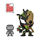 "Funko - Pop! Marvel: Max Venom - 10"" Groot Figura Coleccionable, Multicolor (46866)"