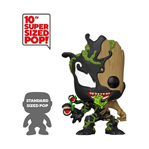 Funko POP! Marvel: Guardianes de la Galaxia: Groot venomizado