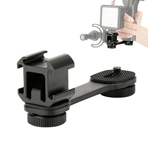 UTEBIT Supporto per microfono per studio fotografico LED Video Light Stand Rig Mount