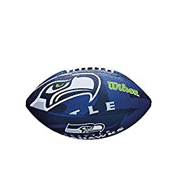 commercial Wilson NFL Youth Soccer Team Logo (Seattle Seahawks) nfl junior footballs