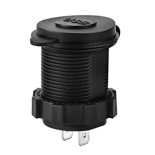Fydun Caricabatterie doppio Caricatore USB 3.1A impermeabile con indicatore LED per barca per auto mobile