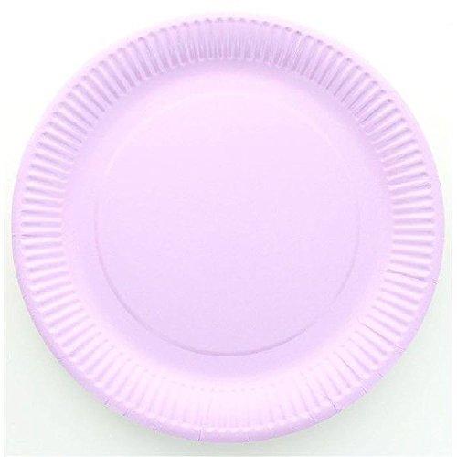 Assiette jetable X10 - Parme diam 23 cm