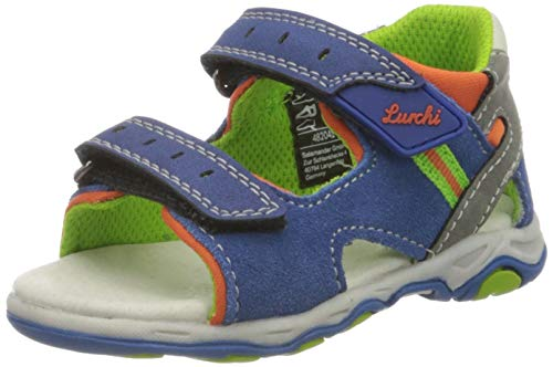 Lurchi Baby-Jungen Janosch Sandale, Blau (Cobalt 42), 20 EU