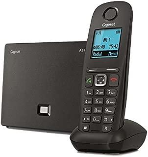 Gigaset A540 IP Telefono Cordless per Chiamate VoIP e Telefonia Fissa, Nero [Italia]