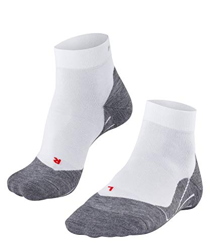 FALKE Damen Laufsocken RU4 Short W SO, 1 er Pack, Weiß (White-Mix 2020), 39-40