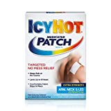 Icy Hot Medicated Patch Extra Strength Pain Relief Patch for Arm, Neck & Leg (5 Pain Patches)