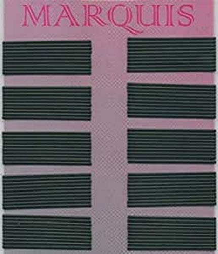 Efalock Professional Haarklemmen Marquis, 5 cm, schwarz glatt, 1er Pack, (1x 1 Stück)