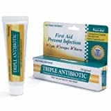 Pure-aid Triple Antibiotic Firs Aid Antibiotic Ointment 0.33oz (2 Pack)